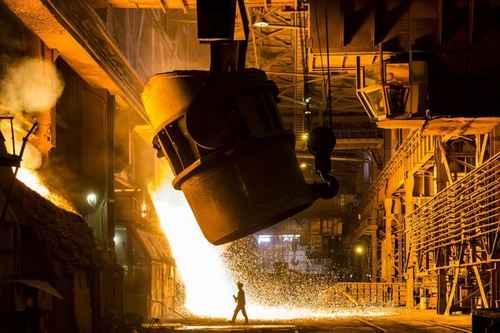 رشد تولید فولاد خام ایران