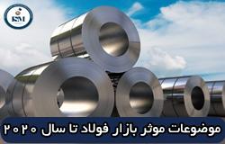 عوامل موثر بر بازار فولاد جهان تا سال ۲۰۲۰